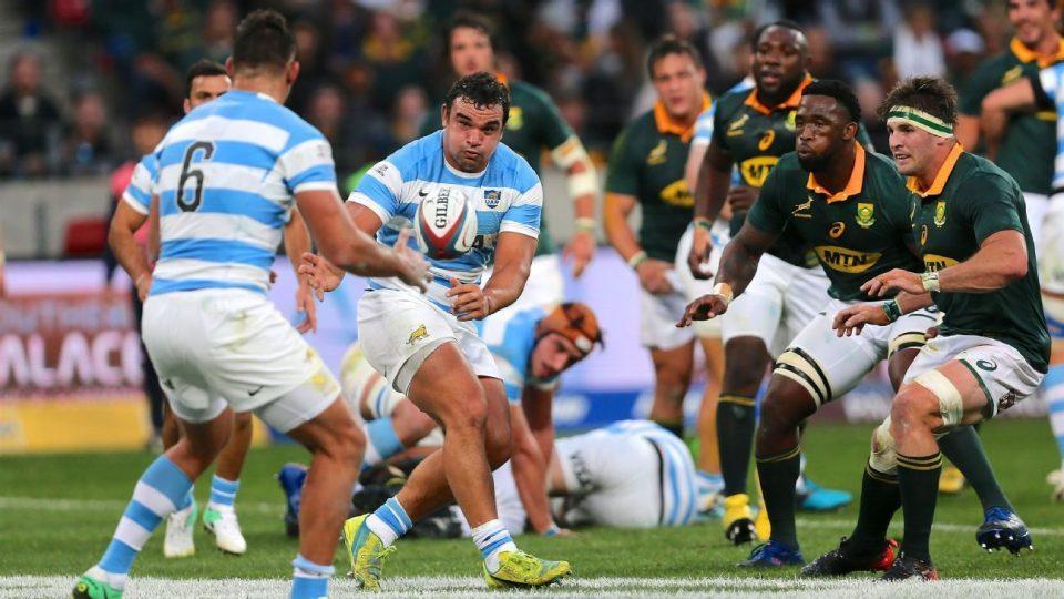 Los Pumas debutan en el Rugby Championship